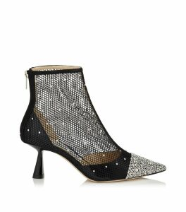 Kix 65 Crystal Mesh Ankle Boots