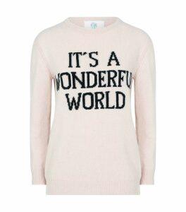 Love Me Slogan Sweater