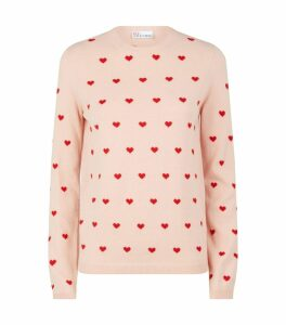 Knitted Hearts Sweater