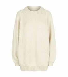 Wool Maxi Sweater
