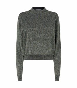 Metallic Effect Sweater