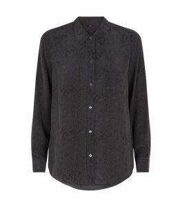 Snakeskin Print Kate Shirt