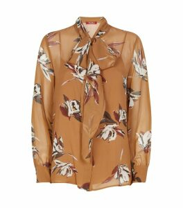 Calesse Floral Pussybow Blouse