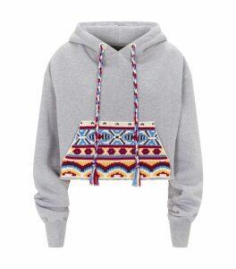 Knit Pocket Hoodie