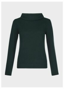 Audrey Wool Cashmere Sweater Ivy