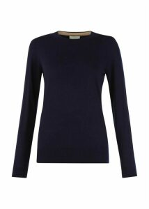 Penny Merino Wool Sweater Navy