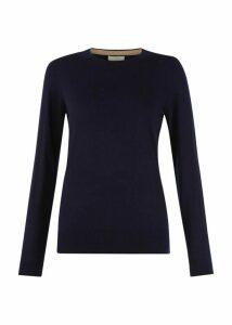 Penny Merino Wool Sweater Navy XL
