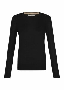 Penny Merino Wool Sweater Black