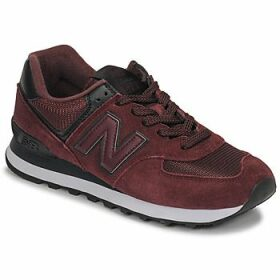 New Balance  574  women's Shoes (Trainers) in Red
