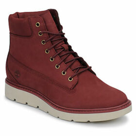 Timberland  KENNISTON 6IN LACE UP  women's Shoes (High-top Trainers) in Red