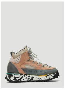 Acne Studios Bertrand Panelled Sneakers in Grey size EU - 40