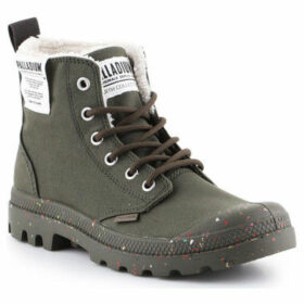 Palladium  Pampa Earth 76437-309-M  women's Shoes (High-top Trainers) in Green