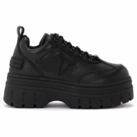 Windsor Smith  sneaker Lit model in black leather  women's Shoes (Trainers) in Black