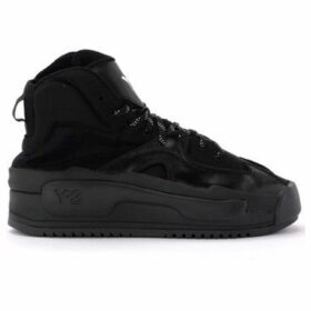 Y-3  sneaker Hokori model in mesh and black leather  women's Shoes (High-top Trainers) in Black