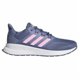 adidas  RUNFALCON K  women's Shoes (Trainers) in Blue