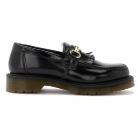 Dr Martens  Adrian moccasin in black leather with clamp  women's Loafers / Casual Shoes in Black