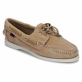 Sebago  DOCKSIDES PORTLAND SUEDE W  women's Boat Shoes in Beige