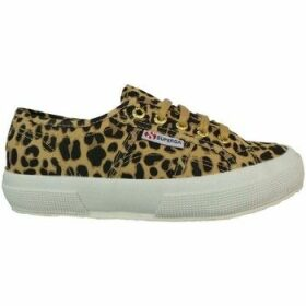 Superga  2750 Fantasy Cotu Leopard  women's Shoes (Trainers) in Yellow