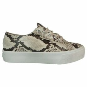 Superga  2730 Synthetic Snakew  women's Shoes (Trainers) in Blue