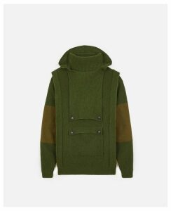 Stella McCartney Green Khaki knit Jumper, Women's, Size 14