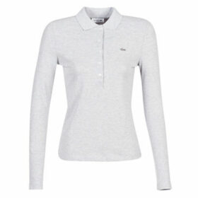 Lacoste  PF7841  women's Polo shirt in Grey
