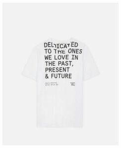 Stella McCartney White #thereshegrows T-shirt, Women's, Size 14