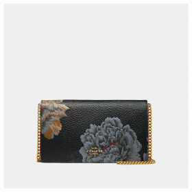 Coach Callie Foldover Chain Clutch With Kaffe Fassett Print