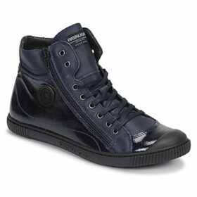 Pataugas  BONO  women's Shoes (High-top Trainers) in Blue