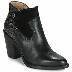 Casta  JAZZA  women's Low Ankle Boots in Black