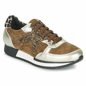 Philippe Morvan  CULT V3 LAMINATO  women's Shoes (Trainers) in Brown