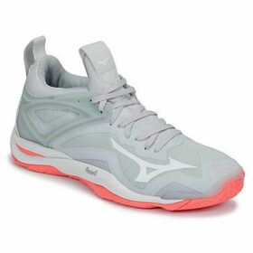 Mizuno  WAVE MIRAGE 3  women's Indoor Sports Trainers (Shoes) in Grey