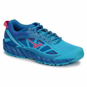 Mizuno  WAVE IBUKI 2  women's Running Trainers in Blue