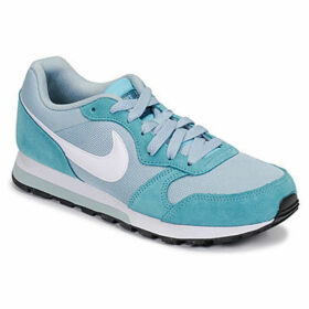 Nike  MD RUNNER 2  W  women's Shoes (Trainers) in Blue
