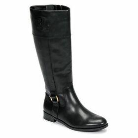 Lauren Ralph Lauren  BERNARDINE  women's High Boots in Black
