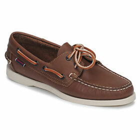 Sebago  DOCKSIDES PORTLAND W  women's Boat Shoes in Brown