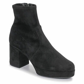 Unisa  NAHALI  women's Low Ankle Boots in Black