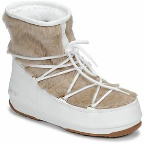 Moon Boot  MOON BOOT MONACO LOW FUR WP  women's Snow boots in White