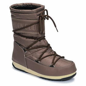 Moon Boot  MOON BOOT MID NYLON WP  women's Snow boots in Brown