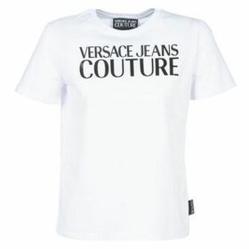 Versace Jeans Couture  LADY T-SHIRT/WHITE UDP613  women's T shirt in White
