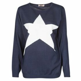 Moony Mood  LATOO  women's Sweater in Blue
