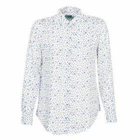 Benetton  POLIFOU  women's Shirt in White