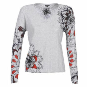 Desigual  ARUGAMBAY  women's Sweater in Grey