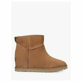 UGG Classic Femme Mini Sheepskin Ankle Boots, Mid Brown