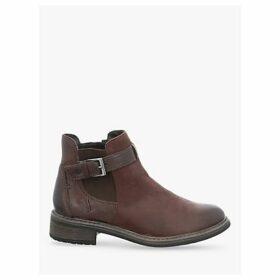 Josef Seibel Selena 17 Leather Block Heel Ankle Boots