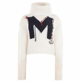 Moncler Logo Chunky Knit