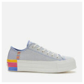 Converse Women's Chuck Taylor All Star Lift Ox Trainers - Ozone Blue/Vintage White