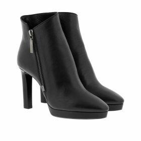 Saint Laurent Boots & Booties - Hall 90 Zip Leather Ankle Boots Black - black - Boots & Booties for ladies