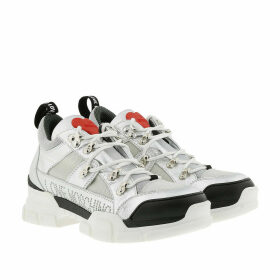 Love Moschino Sneakers - Logo Studded Sneaker Silver - silver - Sneakers for ladies