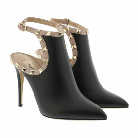 Valentino Pumps - Rockstud Pumps Leather Nero/Poudre - black - Pumps for ladies