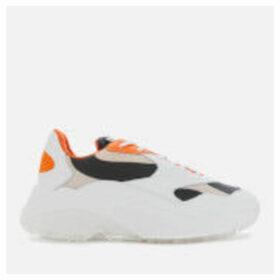 Axel Arigato Women's Swipe Running Style Trainers - White/Orange/Beige